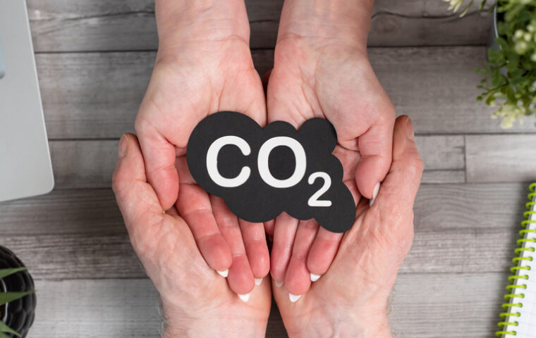 snížení uhlíkové stopy