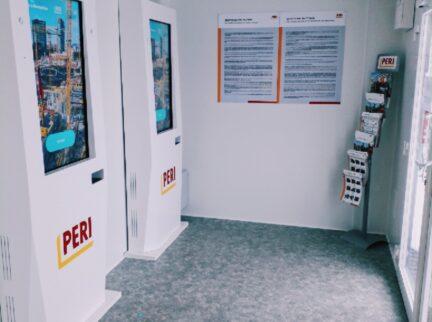 Společnost PERI uvedla doprovozu M2C e-Reception proautomatické odbavení řidičů