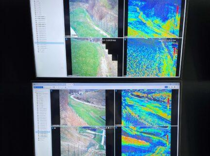 Termokamery využíváme iprozabezpečení perimetru aochrany před zahořením